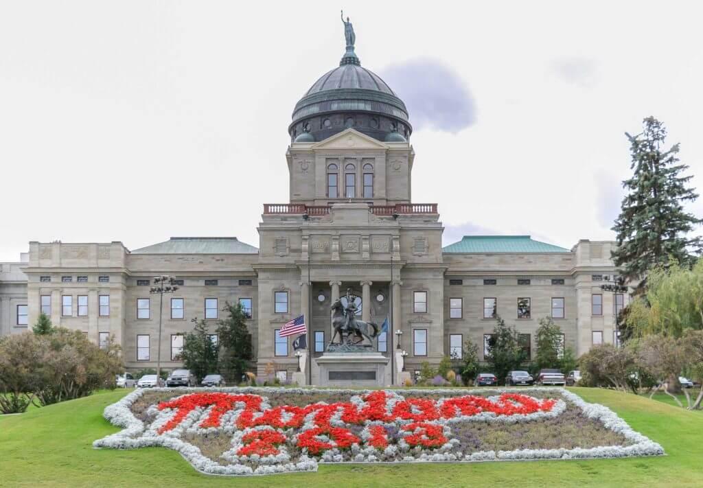 Montana government building